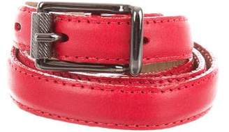 Jason Wu Leather Skinny Belt