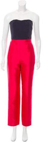 Marc by Marc Jacobs Colorblock Silk Jumpsuit w/ Tags