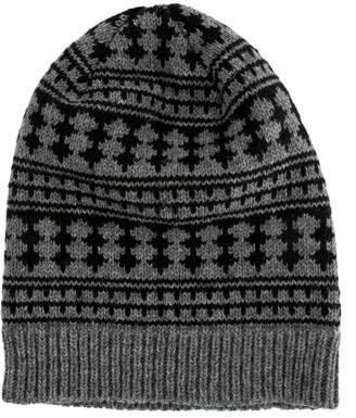 Saint Laurent Knit Printed Beanie