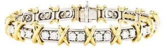 Tiffany & Co. Diamond 36 Stone Bracelet