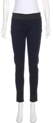 Stella McCartney Mid-Rise Skinny Leggings Black Mid-Rise Skinny Leggings