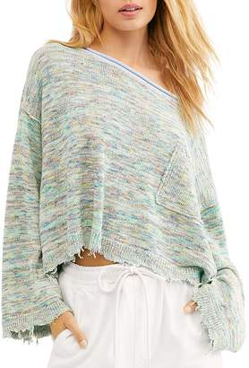 Free People Prism Space-Dye Sweater