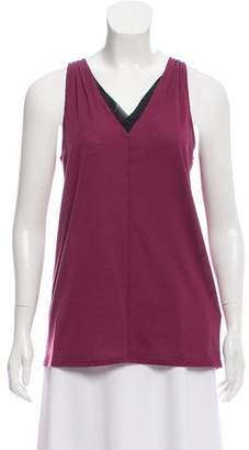 The North Face Mesh-Accented Sleeveless Top