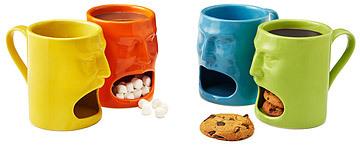 Warm or Cool Face Mugs - Set of 2