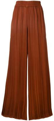 Raquel Allegra high waisted palazzo trousers