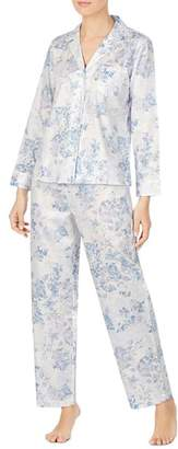 Ralph Lauren Cotton Floral-Print Pajama Set