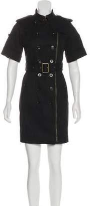 Burberry Zip-Up Coat Dress