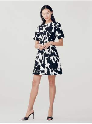 Diane von Furstenberg Lena Stretch-Twill Mini Dress