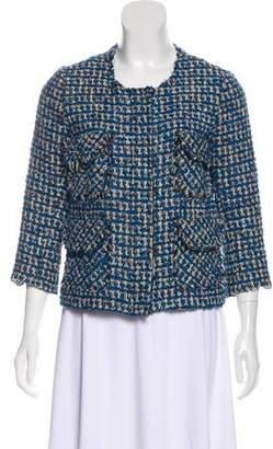Smythe Zip-Up Tweed Jacket