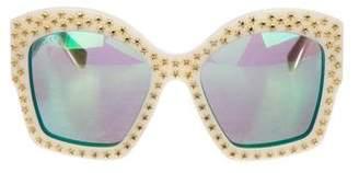 Gucci Star-Studded GG Sunglasses