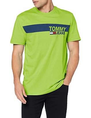 2154d856 at Amazon.co.uk · Tommy Jeans Men's TJM Essential Box Logo TEE T-Shirt,S