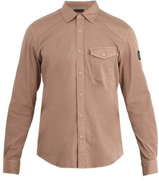 Belstaff Steadway single-cuff stretch-cotton shirt