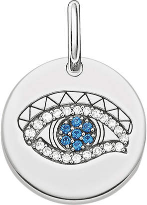 Thomas Sabo Eye of Horus sterling silver pendant, silver