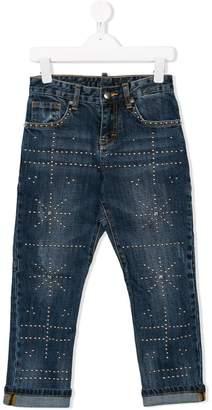 John Richmond Junior star studded jeans