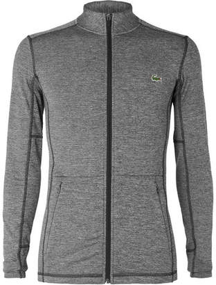 Lacoste Tennis Novak Djokovic Stretch-Jersey Zip-Up Jacket