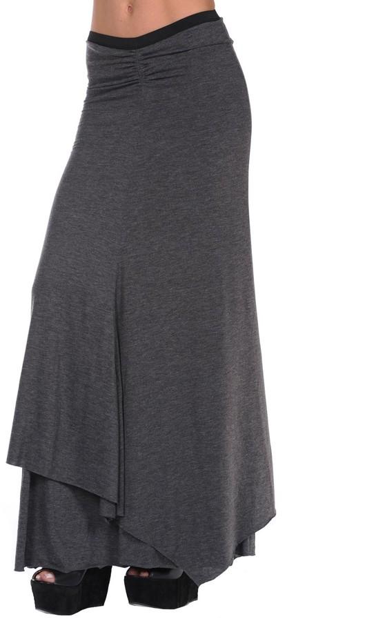 Costablanca Costa Blanca Gathered Knit Skirt