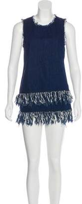 N. Nicholas Denim Mini Dress