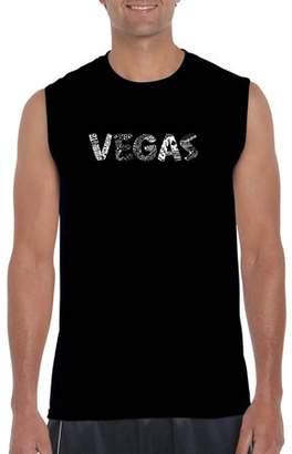 Pop Culture Big Men's Sleeveless T-Shirt - Vegas