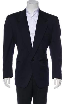Gianni Versace Wool Notch-Lapel Blazer