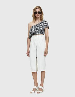 Farrow Adette Pencil Skirt in White