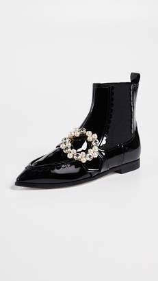 Suecomma Bonnie Jewel Pointy Ankle Booties