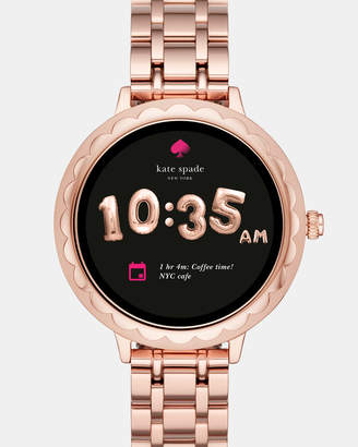 Kate Spade Scallop Rose Gold-Tone Smartwatch