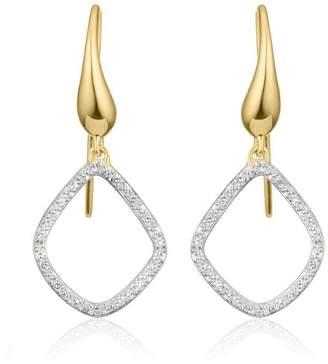 Monica Vinader GP Riva Diamond Kite earrings