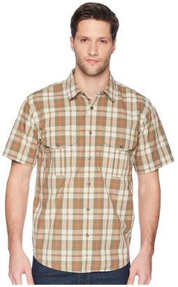 Filson Short Sleeve Feather Cloth Shirt Men's Short Sleeve Button Up