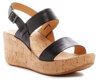 568955af837 KORKS BY KORK-EASE Tome Platform Wedge Sandal