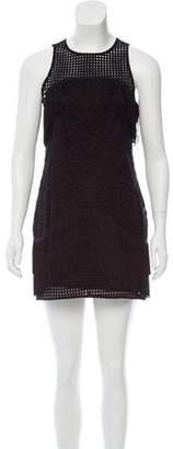 Alexis Fringed Crochet Dress
