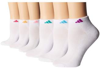 adidas Athletic 6-Pack Low Cut Socks Women's Low Cut Socks Shoes