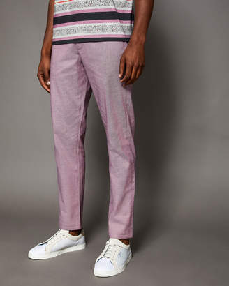 Ted Baker HOLCLAS Classic fit textured chinos