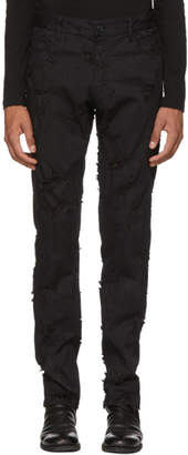 Ann Demeulemeester Black Norwood Trousers
