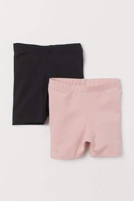 H&M 2-pack cycling shorts