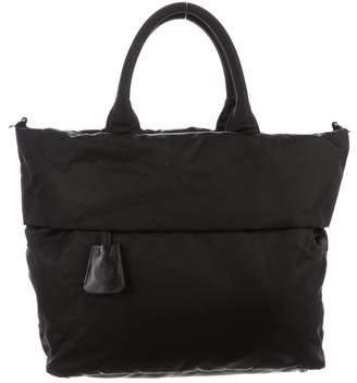 Prada Tessuto Double Shopping Bag
