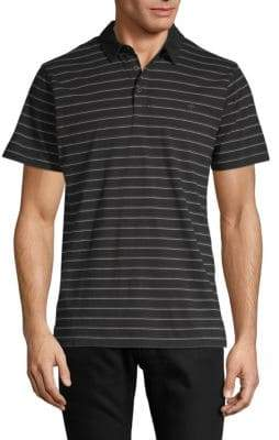 Tavik Swift Striped Cotton Polo
