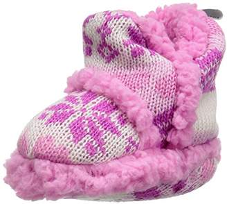 SKIDDERS Kids Plush Moccasins Slipper