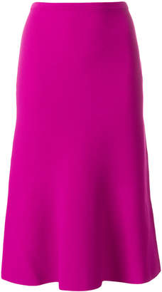Diane von Furstenberg high-waisted flared skirt