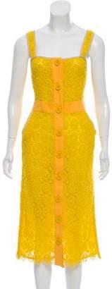 Tory Burch Lace Midi Dress