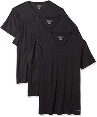 Kenneth Cole Reaction Men's 3 Pack Classic Fit V Neck Tee