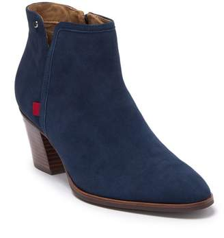 Marc Joseph New York Perry St. Leather Block Heel Ankle Boot