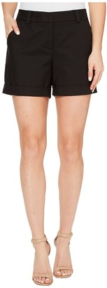Vince Camuto - Doubleweave Cuffed Short Women's Shorts $74 thestylecure.com