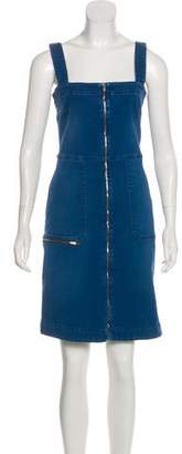 Stella McCartney Denim Knee-Length Dress