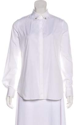 DSQUARED2 Long Sleeve Button-Up Top