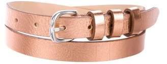 IRO Metallic Leather Belt