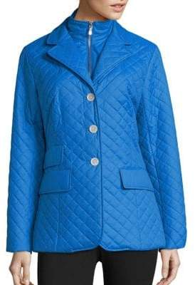 Jane Post Quilted Riding Jacket