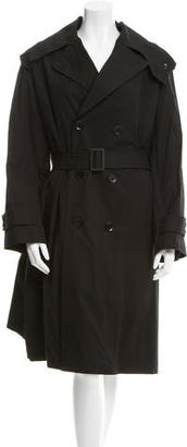 Yohji Yamamoto Double-Breasted Big Coat w/ Tags $945 thestylecure.com