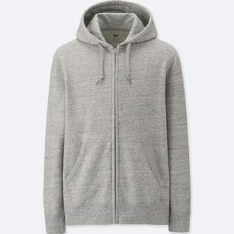 Uniqlo Men's Long-sleeve Sweat Full-zip Hoodie