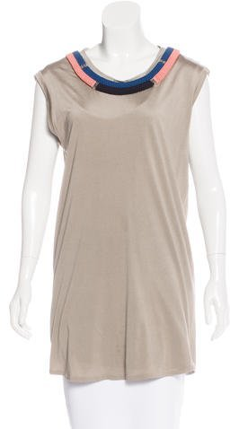 3.1 Phillip Lim 3.1 Phillip Lim Embellished Sleeveless Tunic