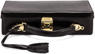 Mark Cross Grace Long Bag in Black | FWRD